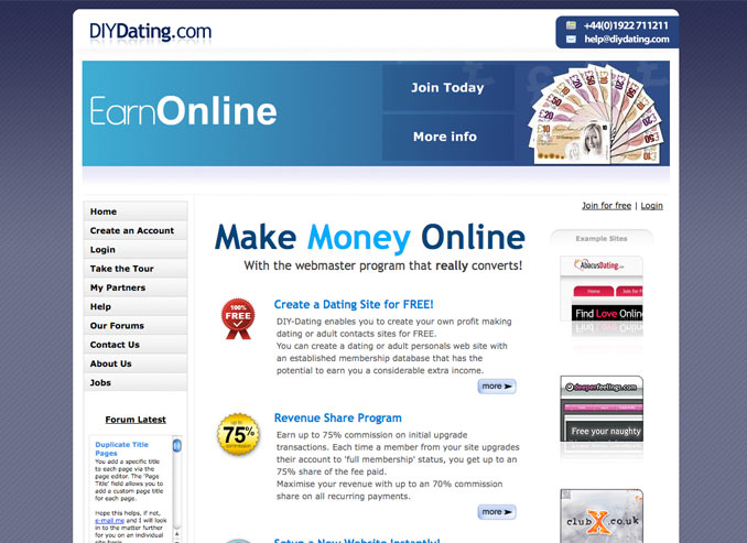 build my own online dating site Creating your own online dating site takes time and creativity, but these sites have real potential as lucrative businesses here is a 5-step guide to starting a dating site, powered by skadate dating software.