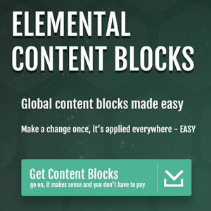 Elemental Web Content Blocks