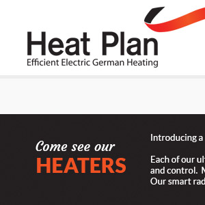 Heatplan Homepage theme design